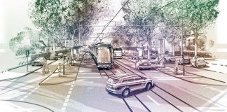 Illustration der geplanten CityBahn. Grafik: www.citybahn-verbindet.de