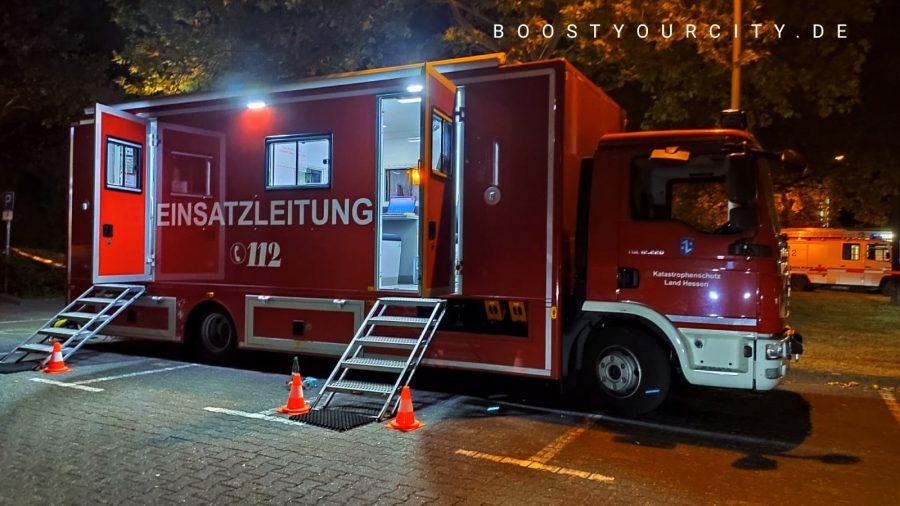 Einsatzleitung Mörfelden-Walldorf | Foto: Meikel Dachs