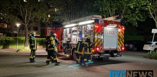 Großeinsatz der Feuerwehr in Mainz-Hechtsheim   Foto: Dennis Weber