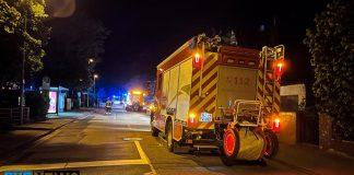 Feuerwehreinsatz in Mainz-Mombach