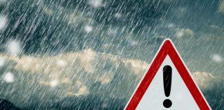 Unwetter Warnung