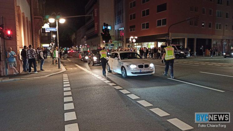 Autokorso in Mainz am 06. Juli 2021